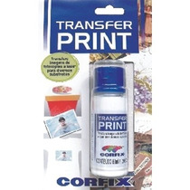 Transfer Print 120ml Corfix Pacote C\2 Unidades De 60ml
