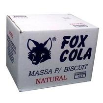 Massa De Biscuit Fox Natural Caixa 5kg Excelente Qualidade