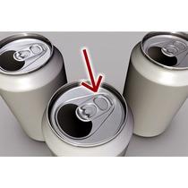 10 Lacres De Latinha De Alumínio(para Artesanatos)por R$1,17