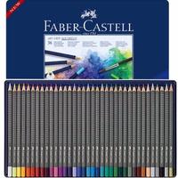 Lápis De Cor Aquarelável Faber Castell Art Grip 36 Cores