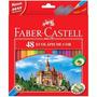 Lápis De Cor Sextavado Estojo C/48 Cores Faber-castell