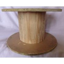 Bobina De Madeira Para Artesanato - 30x50cm
