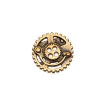 Antiqued Bronze Steampunk 4 Buraco Botão 22.5mm (1)