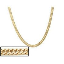 Corrente Rommanel Masculina Cod 530490 Lindo 3banhos De Ouro