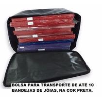 Bolsa Para Transporte De Até 10 Bandejas De Jóias