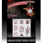 Moldes Vazados Stencil - Tatuagens Temporárias - Corinthians