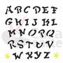 Stencil De Acetato Para Pintura Opa 14 X 14 Cm - 976 Alfabet