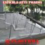 Espicula Anti Pombos C/ Hastes Dupla De Arame Galvanizado