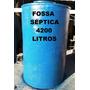 Fossa Séptica De 4200 Litros De Fibra De Vidro