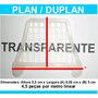 Passarinheira Telha Plan Duplan Cristal Kit 10 Metros