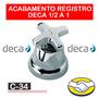 Acabamento P/ Registros Gaveta 1/2 E 3/4 C 34 Max Deca