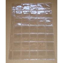5 Folhas 35 Moedas Plástico Pvc 20 Com Aba (fm00c)