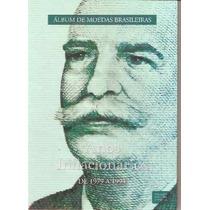 Álbum Moedas Brasileiras - Anos Inflacionários 79/94