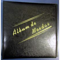 Álbum Com Argolas Para 200 Moedas