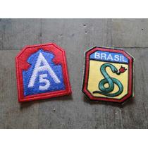 Coleção, Patche, Feb , Brasil, Segunda Guerra, Militar