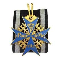 Reprodução Da Medalha Franco Blue Max Pronta Entrega!!