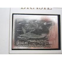 Prata 900 Medalha Selo Parque Nacional Marinho Dos Abrolhos