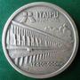 Itaipú.-inauguração-medalha Prata-40 Mm.casa Moeda-cert