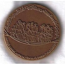 Israel-medalha Comemorativa-1970 De Bronze-diam.59 Mm-per