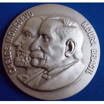 Medalha Prata 900-centenario Policlinica Rio-1981-cert.c.moe