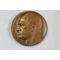 Rara Medalha Italiana Do Mussolini - Veja Fotos E Detalhes