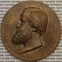 Medalha Comemorativa Medalhão Sesquicentenário Objeto Antigo