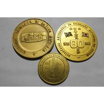 3 Medalhas - Imigração Japonesa - Veja As Fotos E Detalhes