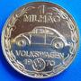 Volkswagen-medalha Ouro Puro-primeiro Milhao De Fuscas-1970