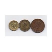 Lote De 3 Medalhas Do Luiz Carlos Prestes - Frete Grátis