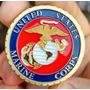 Moeda Medalha - Marinha Us Marine Corps - Poker Guard