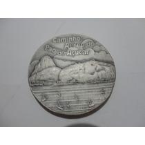 Medalha Comemorativa Caminho Aéreo Do Pão De Açúcar 1987.