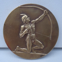 Antiga Medalha 1ª Olimpiada Do Exercito 1949