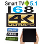 Mini Pc Tv I68 4k Octacore Ultra Hd Tv Box Android 5.1 Wifi