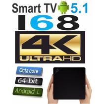 Mini Pc Tv I68 4k Octacore Ultra Hd Tv Box Android 5.1 Wifi