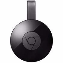 Google Chromecast 2 Hdmi 2015 Preto - Adaptador Multimídia