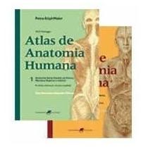 Atlas De Anatomia Humana - Volume 1 E 2 - Livro Novo