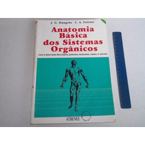 Livro Medicina Anatomia Basica Sistemas Organicos Ed 1995