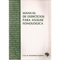 Raridade Manual De Exercícios Para Análise Fonológica