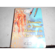 Livro Dicionário De Termos Médicos E De Enfermagem