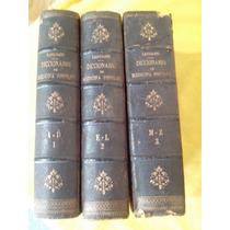 Raríssimo Dicionario De Medicina Popular -ano 1873.
