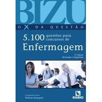 Livro Bizu De Enfermagem O X Da Questão 5100 Questões Novo