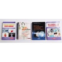 Kit Enfermagem - Manuais Para Estudos E Estágios