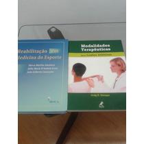 Kit Livros Fisioterapia Em Medicina Do Esporte