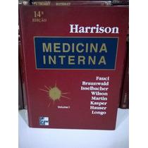 Medicina Interna Harrison -vol 1- 14° Edição Frete Grátis