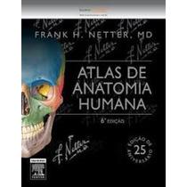 Frete Gratis - Netter - Atlas De Anatomia 6a Ed Novo Lacrado