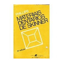 Phillps Materiais Dentarios De Skinner 8 Ed. Usado
