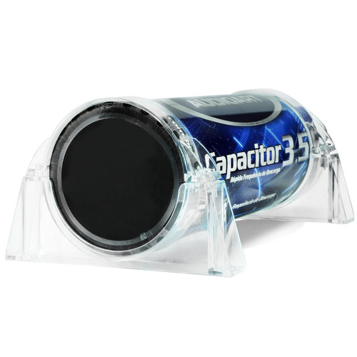 Mega Capacitor 3.5 Farad Digital Som Automotivo 3.500 W Rms