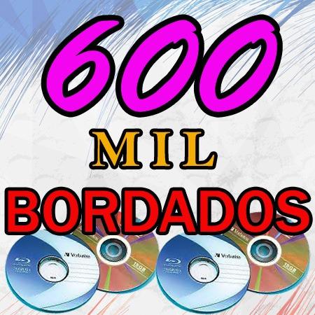 Mega Coleção- 600 Mil Bordados - Disney E Muito Mais Em Dvd