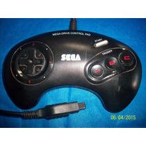 Belo Controle Mega Drive 3 Original Tectoy Md 16 Bits Raro!