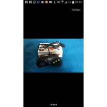 Kit 1 Controle Mega Drive E 1 Cabo Av Mega Drive 3